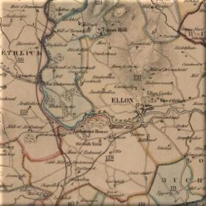 Gibb Map of Ellon 1858