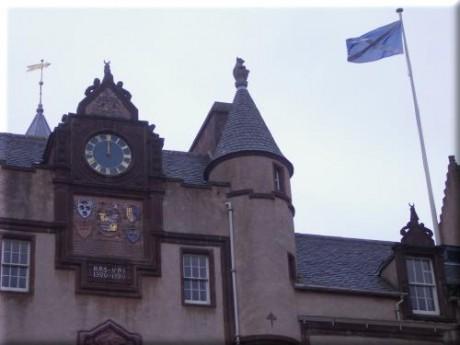 Fyvie Castle Clock