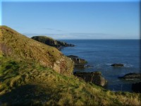 Collieston Cliffs