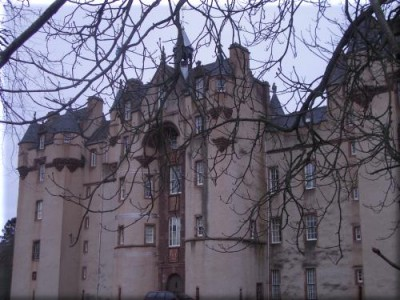 Fyvie Castle Entrance