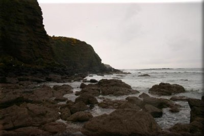 Pennan Cliffs