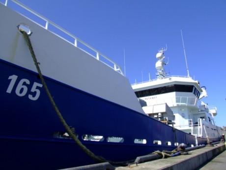 Peterhead Harbour Boat