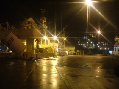 Peterhead Harbour at Night