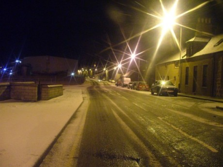 Peterhead Aberdeenshire Winter